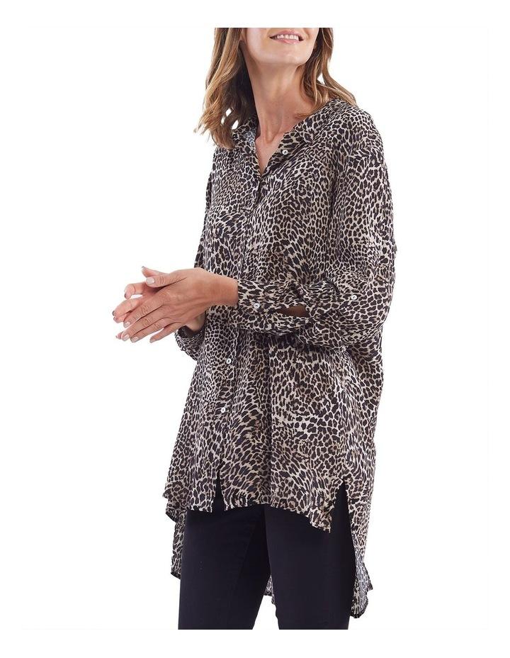 Leopard Print Overshirt image 2