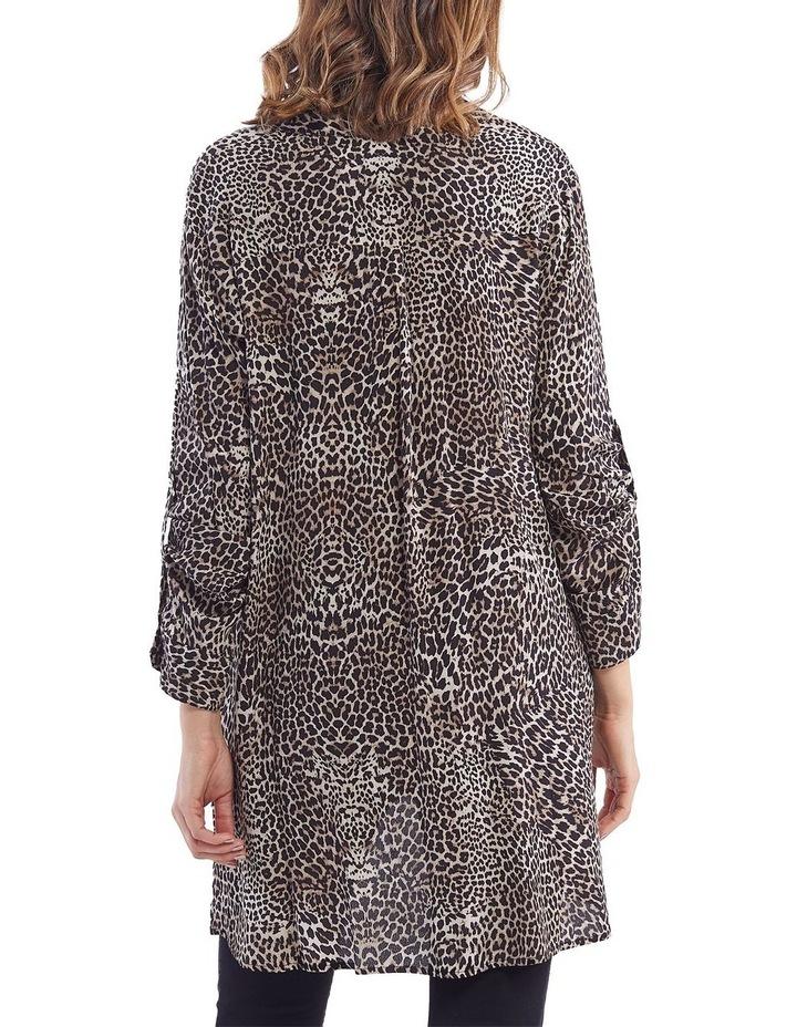 Leopard Print Overshirt image 3
