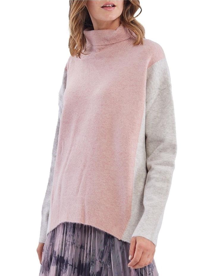 Colour Block Knit Jumper image 1
