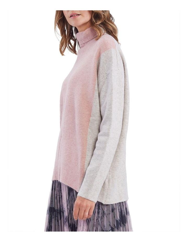 Colour Block Knit Jumper image 2