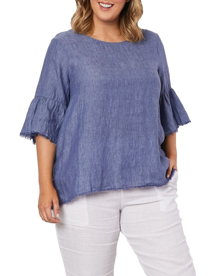 Cross Dyed Top image 1