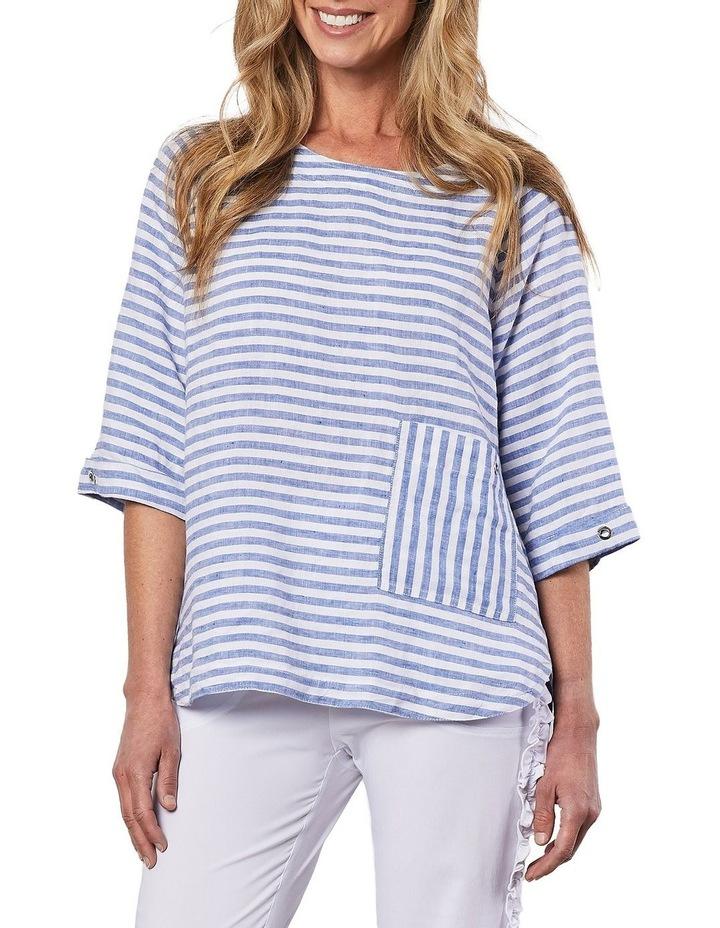 Side Pocket Stripe Top image 1