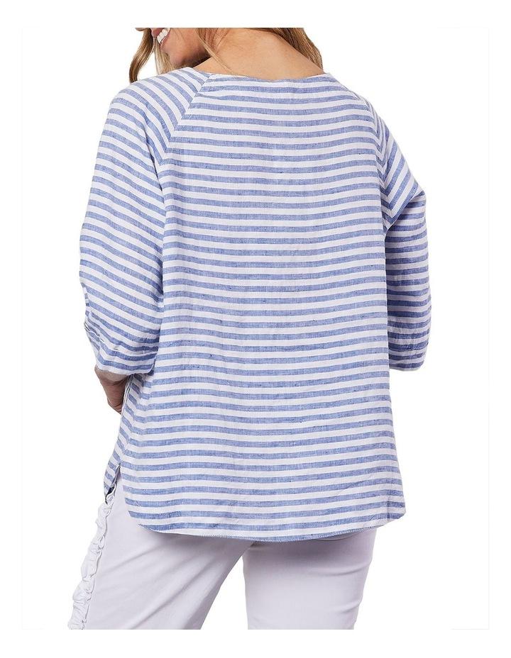 Side Pocket Stripe Top image 2