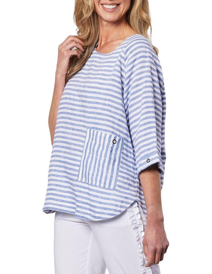 Side Pocket Stripe Top image 3