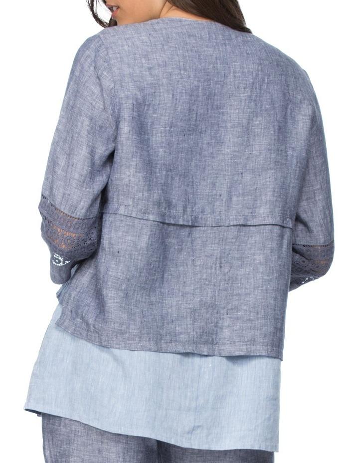 Lace Inset Detail Jacket image 3