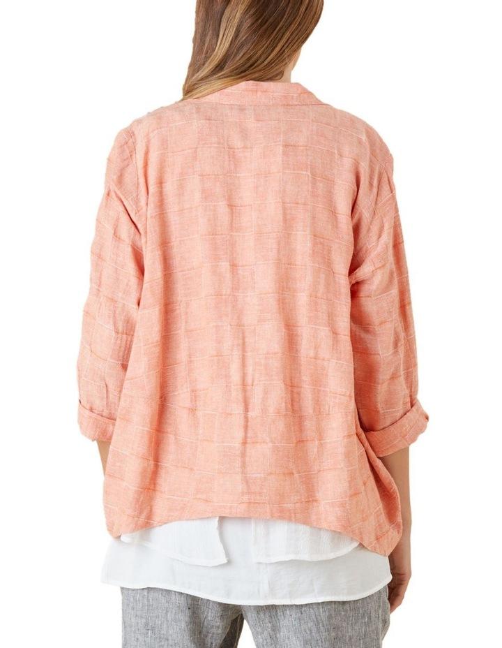 Self Check Linen Jacket image 3
