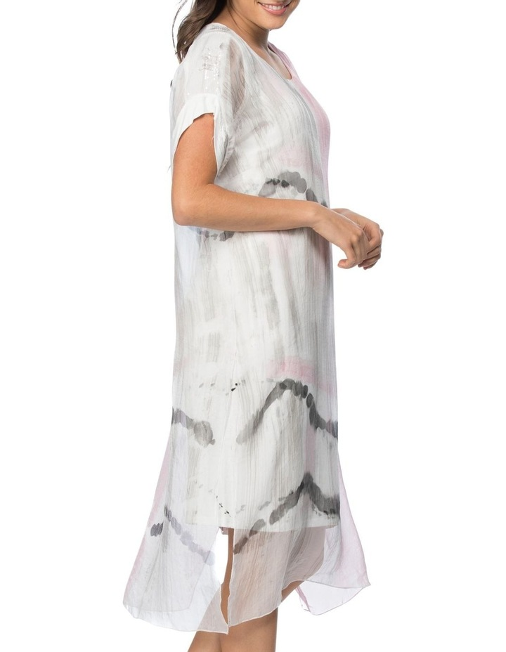 Hand Painted Dress With Jersey Lining image 2