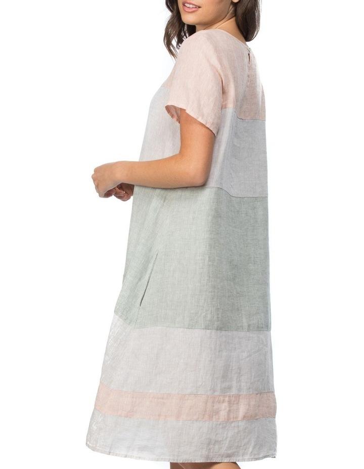 Multi Coloured Panel Detail Dress image 2