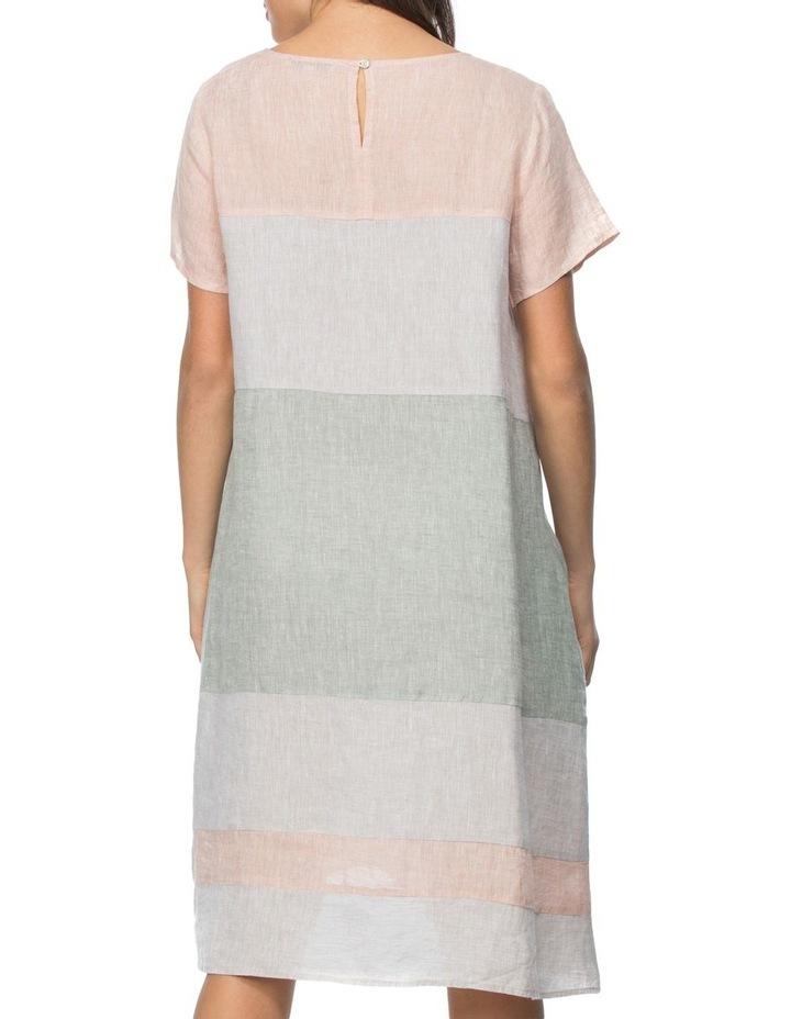 Multi Coloured Panel Detail Dress image 3