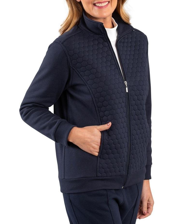 Honeycombe Fleece Jacket image 3