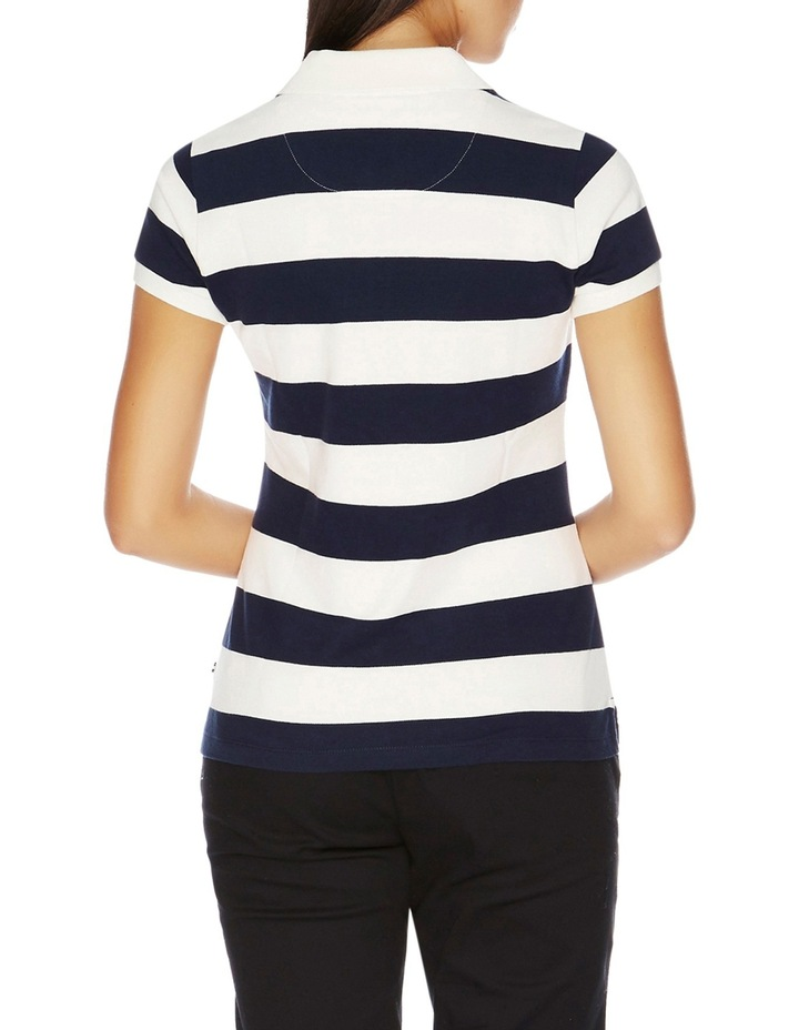 Short Sleeve Stripe Polo image 2