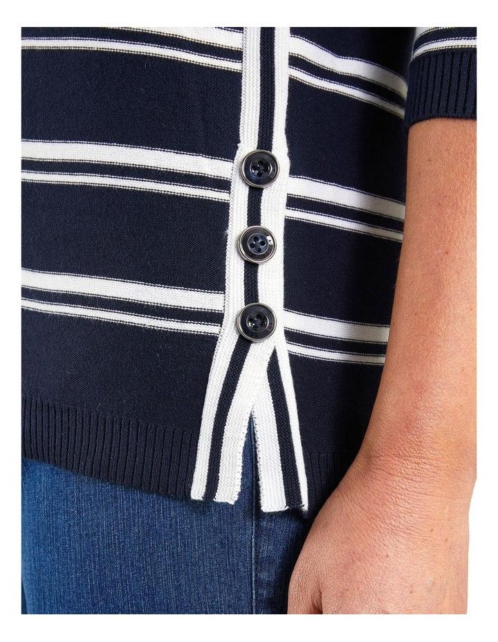 Serena Ink 3/4 Sleeve Knit image 4