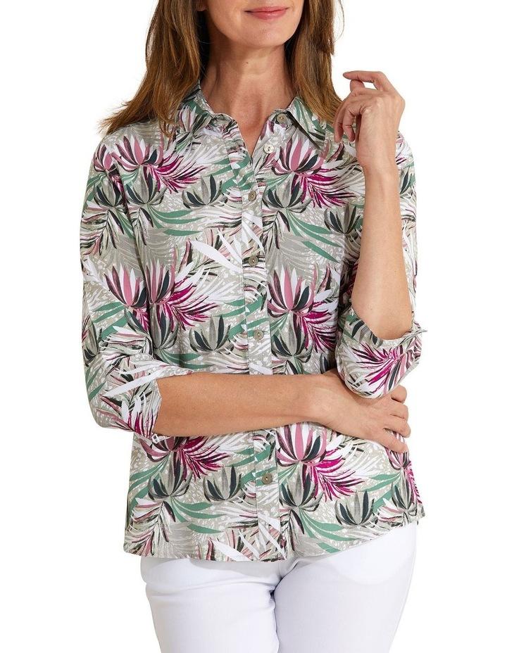 Kalila 3/4 Sleeve Shirt Bamboo image 1