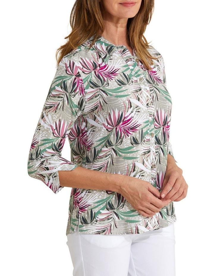 Kalila 3/4 Sleeve Shirt Bamboo image 3