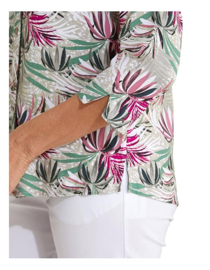 Kalila 3/4 Sleeve Shirt Bamboo image 4