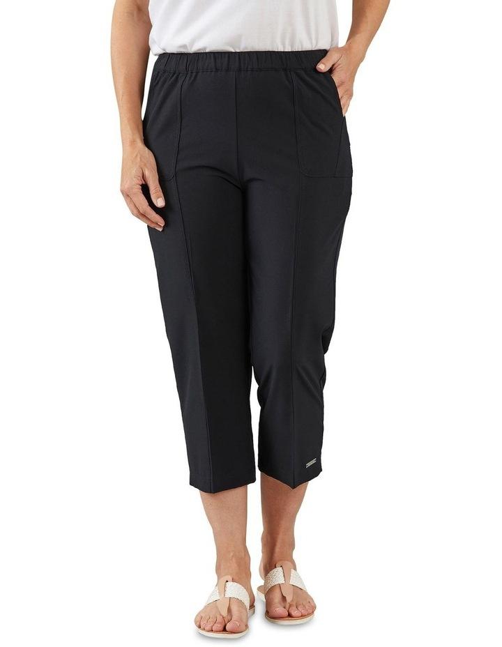 Eureka Black 3/4 Length Pants image 1