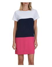 Nautica - Short Sleeve Colour Block Dress
