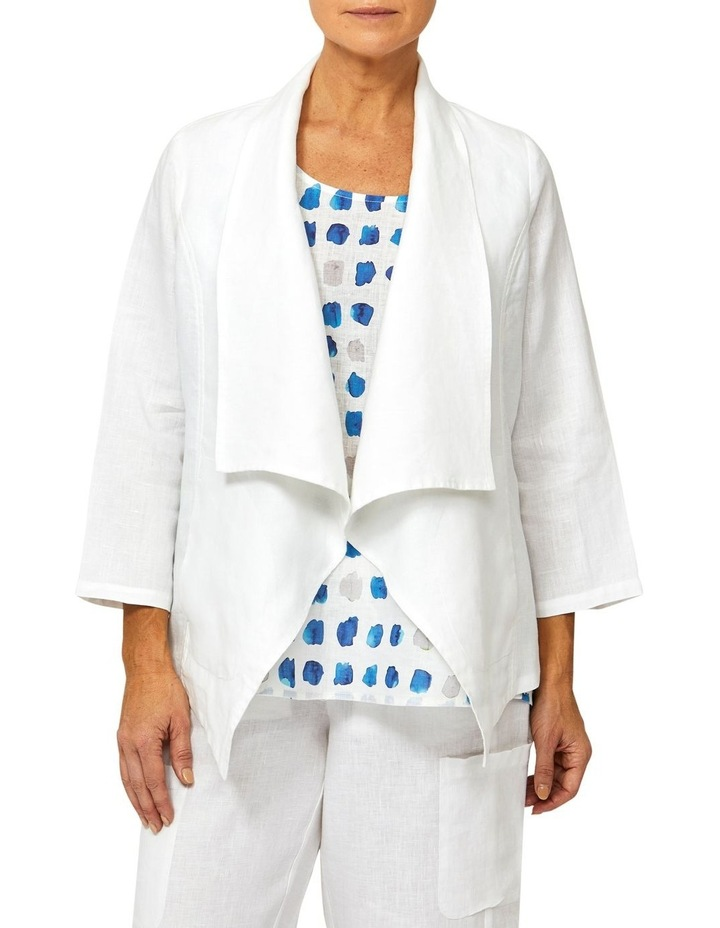 Waterfall Linen Jacket image 1