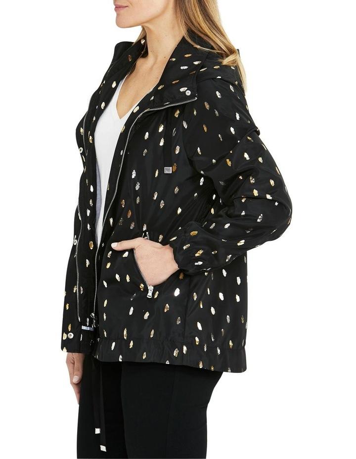 Foil Print Black/Metallic Lightweight Jacket image 3
