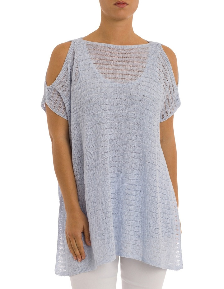 Drop Shoulder Double Layer Pullover image 1