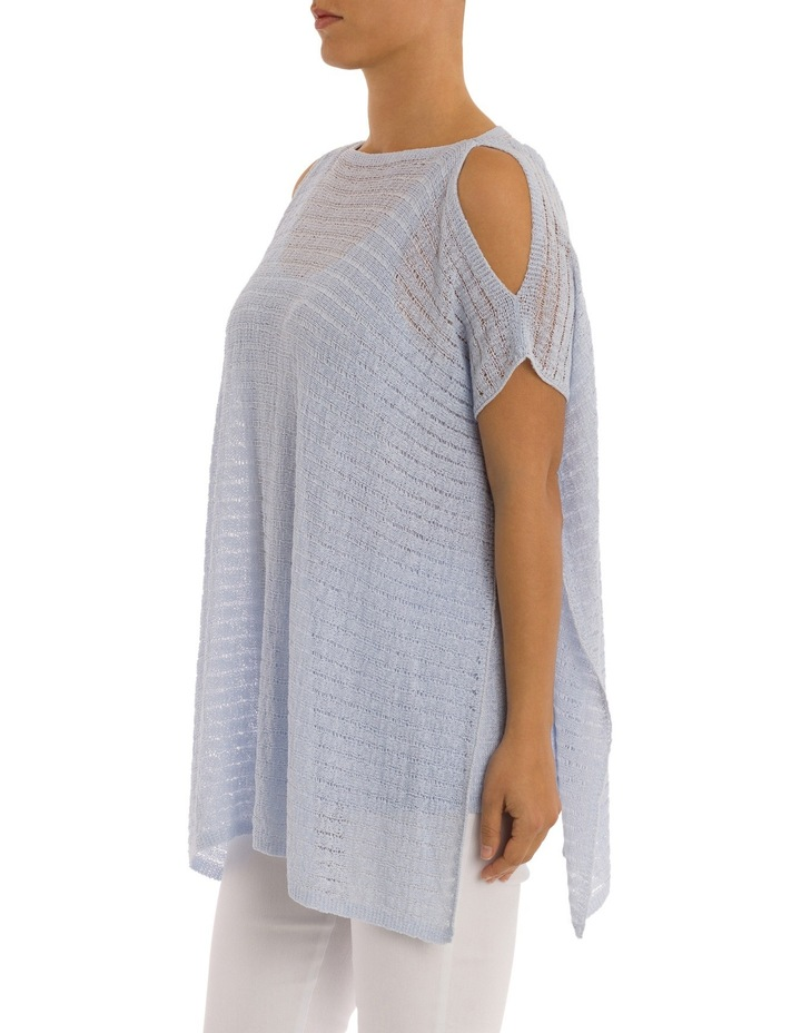 Drop Shoulder Double Layer Pullover image 2
