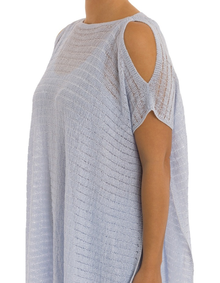 Drop Shoulder Double Layer Pullover image 4