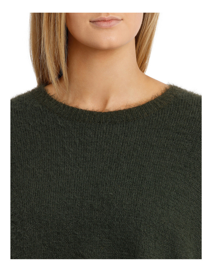 Feather knit pullover image 4