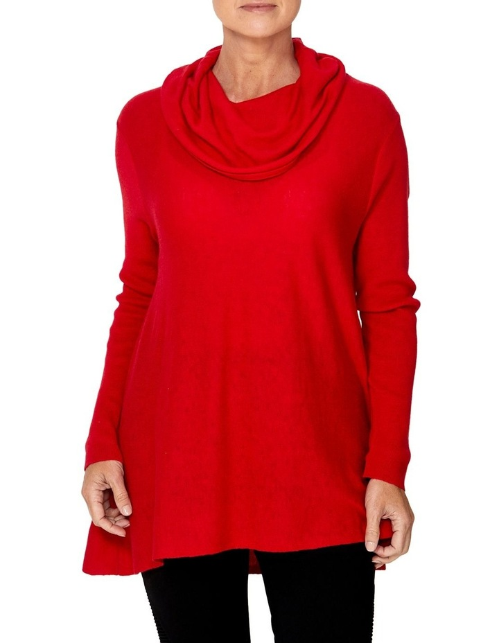 COWL NECK PULLOVER image 1