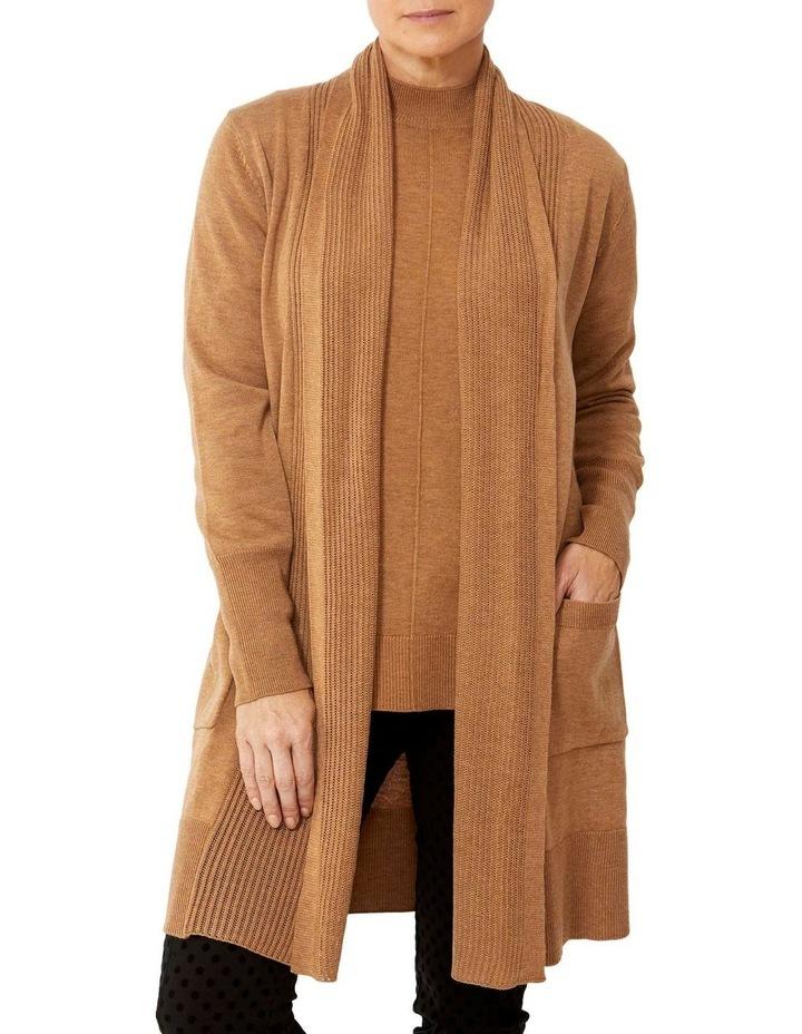 Wool Blend Longline Cardigan image 1