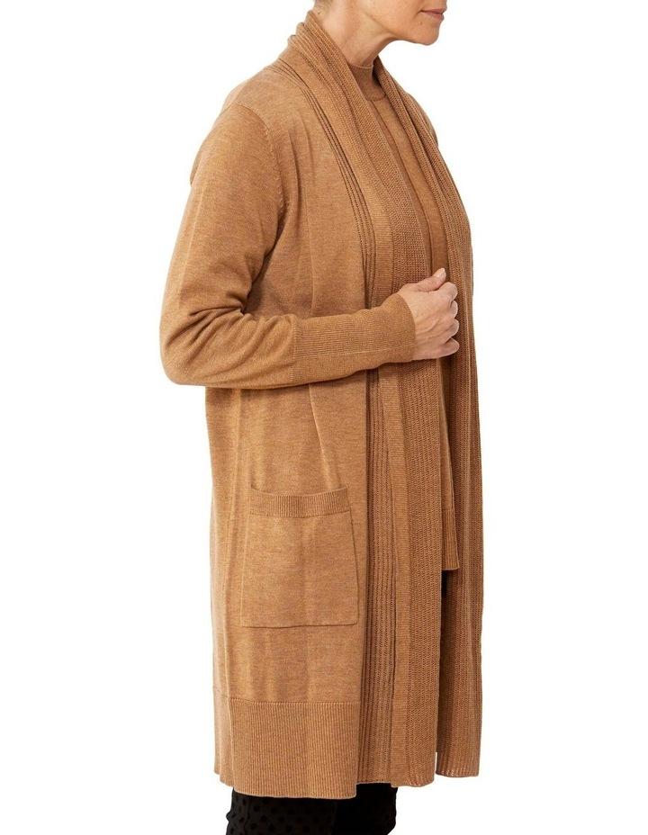 Wool Blend Longline Cardigan image 2