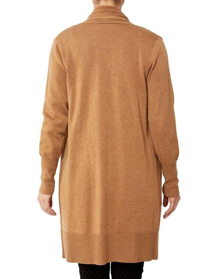 Wool Blend Longline Cardigan image 3