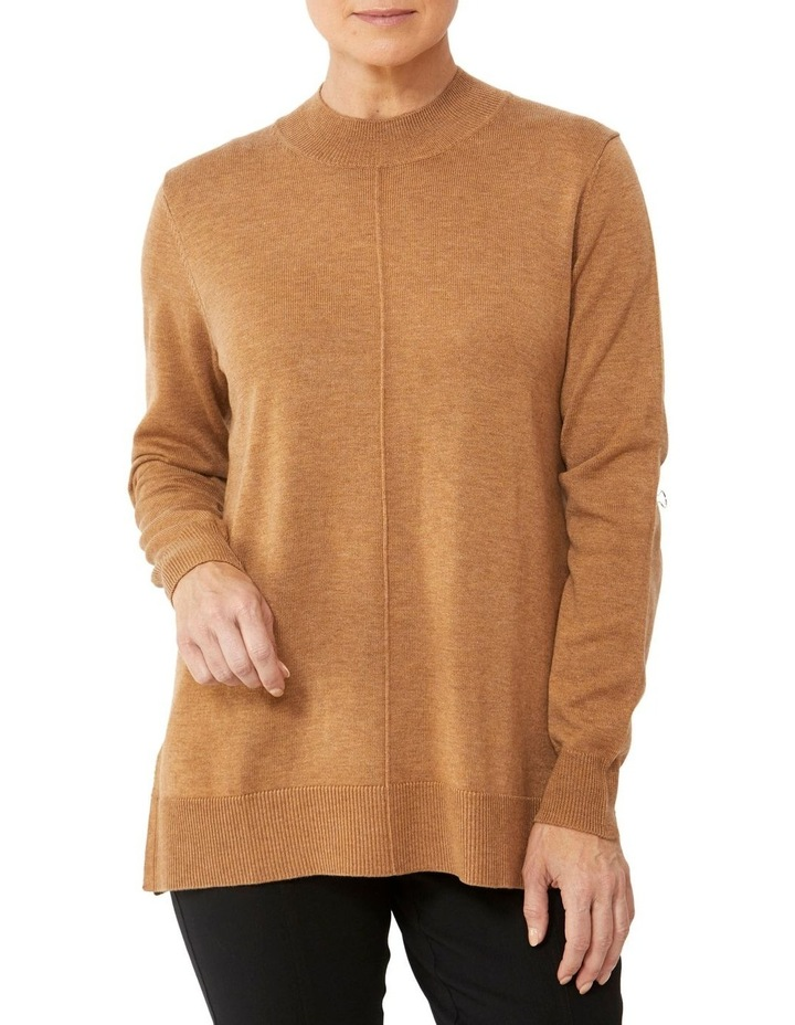 Wool Blend Roll Neck Pullover image 1