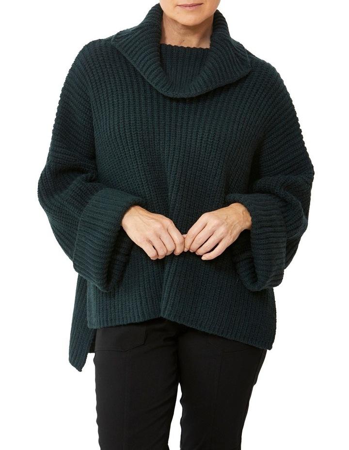 Roll Neck Side Split Pullover image 1