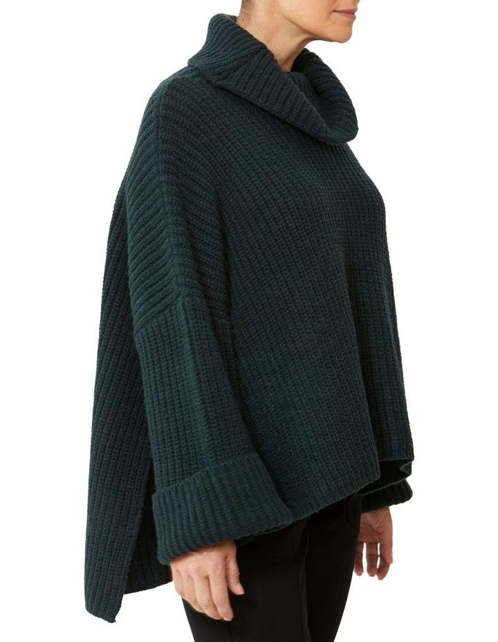 Roll Neck Side Split Pullover image 2