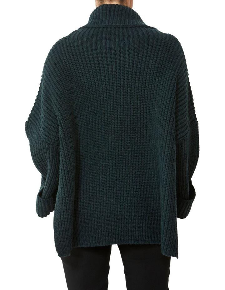 Roll Neck Side Split Pullover image 3