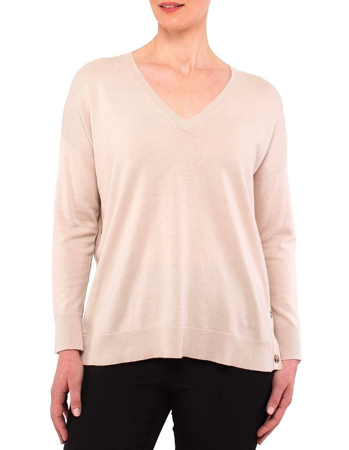 V-Nk Side Button Pullover image 1