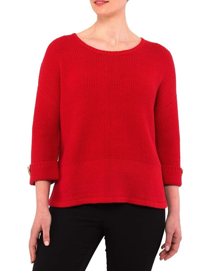 Textured Pullover image 1