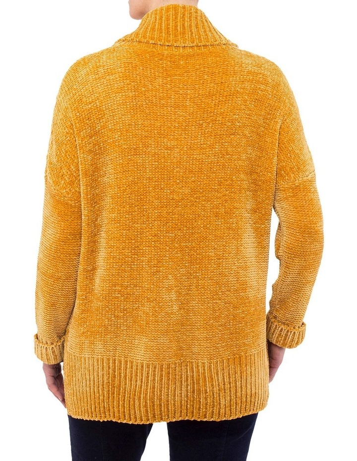 Chenille Cable Pullover Knit image 3