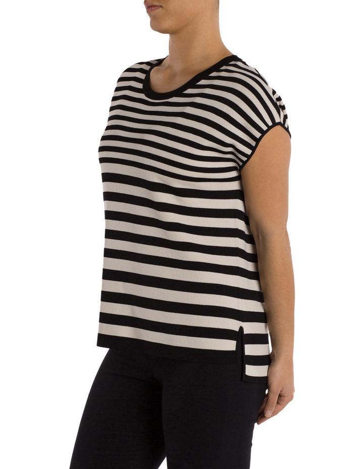 Drop Shoulder Stripe Pullover image 2
