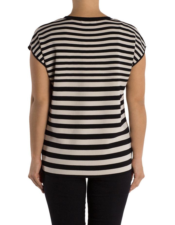 Drop Shoulder Stripe Pullover image 3