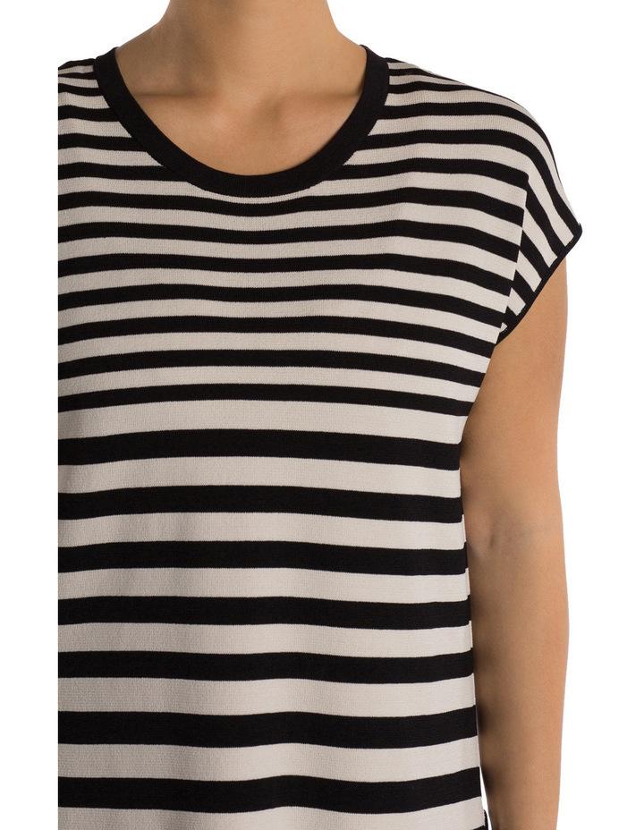 Drop Shoulder Stripe Pullover image 4