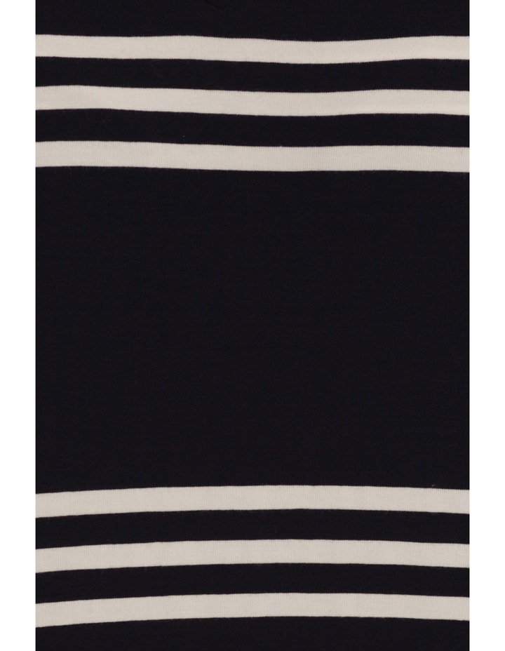 Double Layer Stripe Tunic Top image 5
