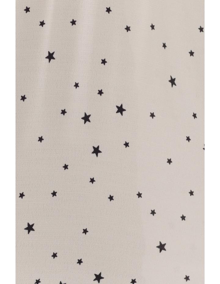 Star Print Blouse image 4