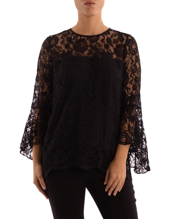 Bell Sleeve Lace Top image 1