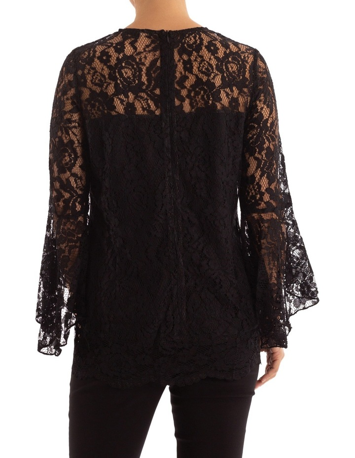 Bell Sleeve Lace Top image 3