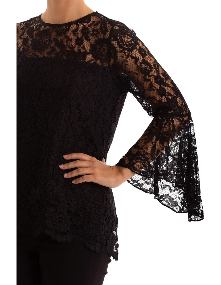 Bell Sleeve Lace Top image 4