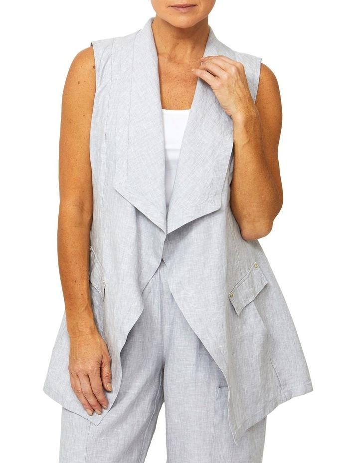 Linen Vest image 1