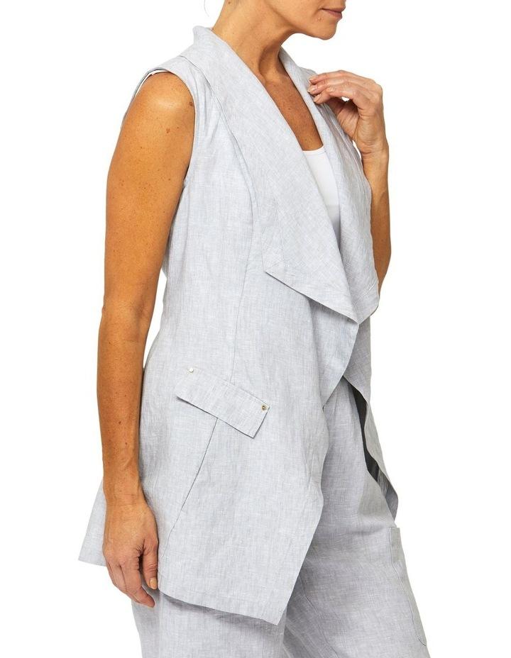 Linen Vest image 2