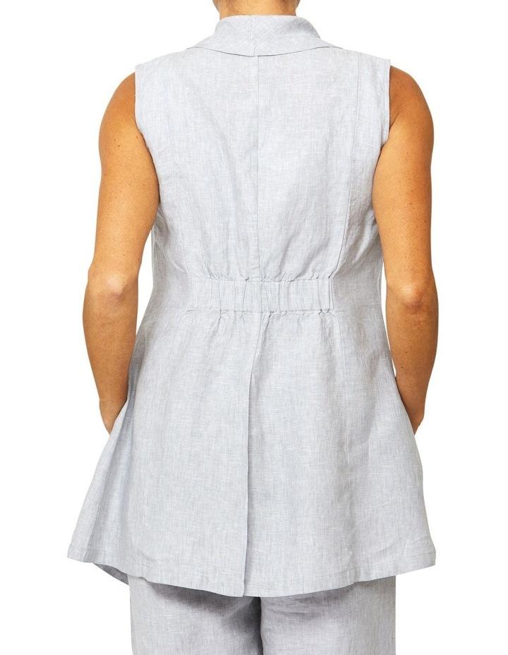 Linen Vest image 3