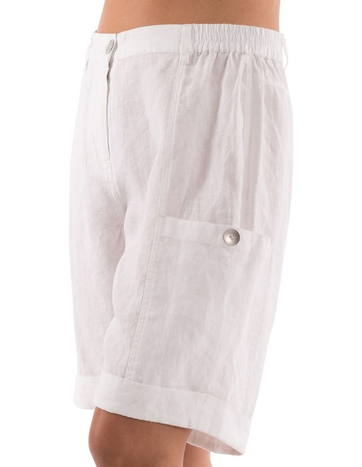 Patch Pocket Linen Short image 4